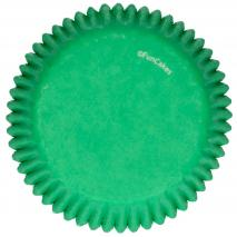 Papel cupcakes x48 Verde