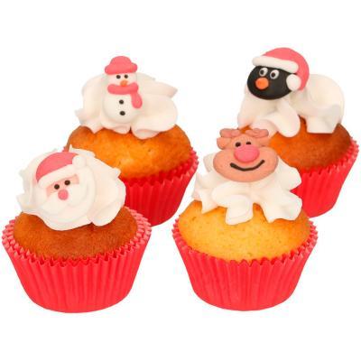 Set 8 decoraciones de azúcar Navidad