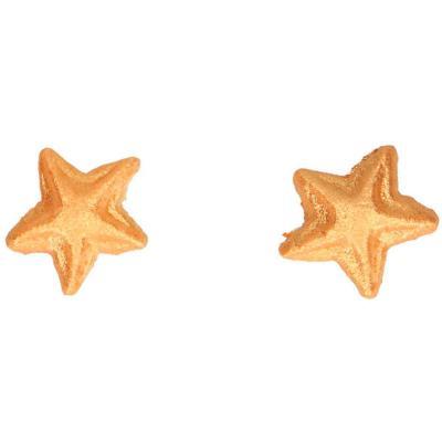 Set decoraciones de azúcar Estrellas doradas