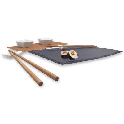 Set sushi presentación pizarra 8 piezas