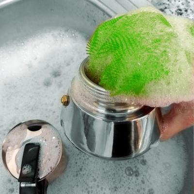Estropajo guante limpiador silicona
