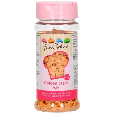 Sprinkles Estrellas doradas Mix 60g