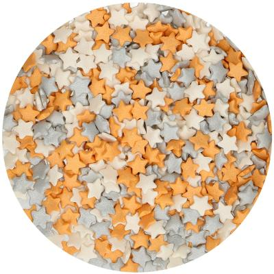 Sprinkles Mix Estrellas plata- oro- blanca 60 g