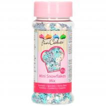 Sprinkles Mini floc de neu blau/blanc 50 g