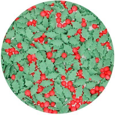 Sprinkles Holly Mix Hojas y bolitas de Acebo