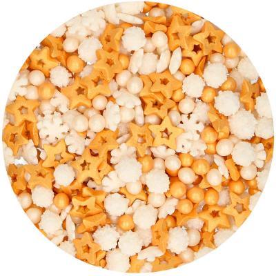 Sprinkles Medley navidad dorado 180g