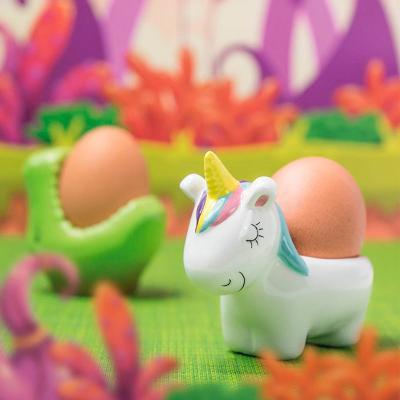 Huevera Unicornio porcelana