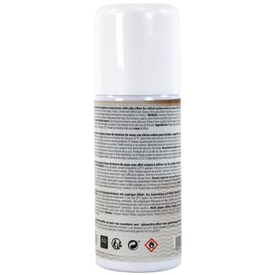Spray alimentario efecto terciopelo 100 ml marrón