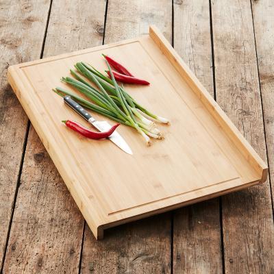 Tabla de cortar bambú faldón encimera 40x30 cm