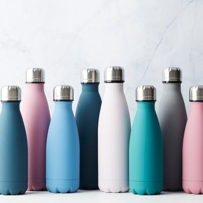 Botella térmica acero colores