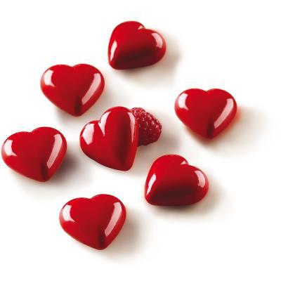 Molde bombones silicona 3D Corazón