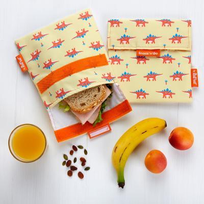 Bolsa Porta snacks Snack'n Go Animals Dino