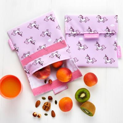 Bolsa Porta snacks Snack'n Go Animals Unicornios