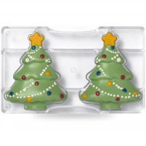 Molde policarbonato para bombones Árbol de Navidad