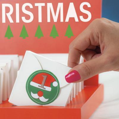 Set calendario de adviento navidad 75 pz