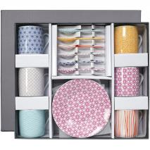Set regalo café Nippon colors 18 piezas