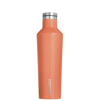 Botella térmica acero Corkcicle 475 ml peach