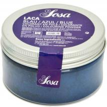 Colorant laca liposoluble pols 20 g blau