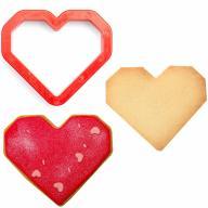 Cortador galletas plástico Corazón