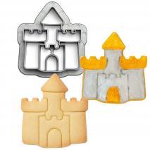 Cortador galletas plástico Castillo