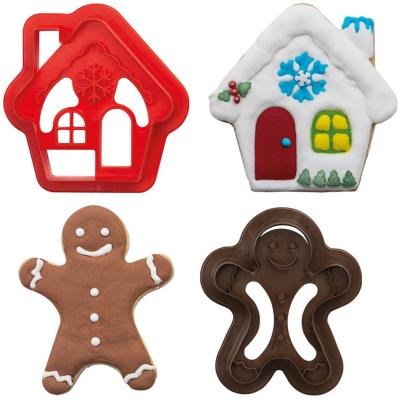 Set 2 cortadores galletas plástico Ginger&House