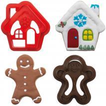 Set 2 cortadores galletas plástico Ginger&House