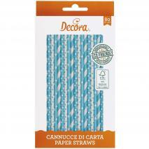 Set 80 canyetes paper bio estrelles i punts blau