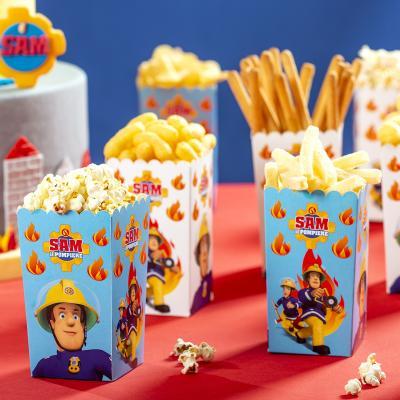 Set 6 cajas Party Box Bombero Sam