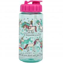 Ampolla aigua amb canyeta Unicorns