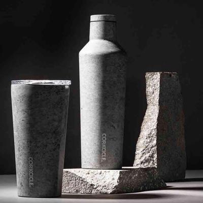 Botella térmica acero Corkcicle 475 ml Concrete