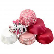 Papel cupcakes x150 San Valentín