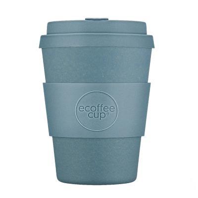 Taza bambú con tapa Ecoffee 400 ml Gray Goo
