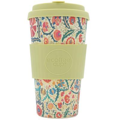 Taza bambú tapa New Ecoffee 470 ml Papaseidici