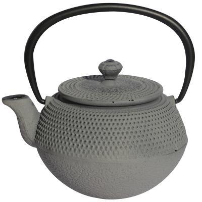 Tetera individual hierro Kyoto 350 ml gris claro