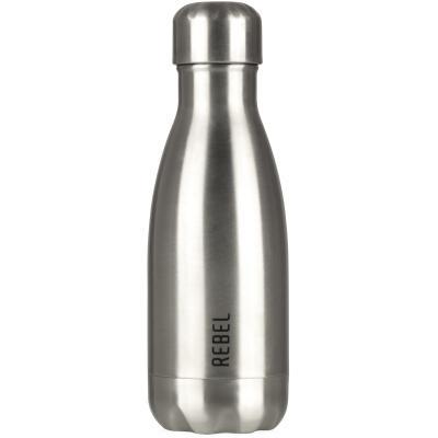Botella térmica Rebel 280 ml plata