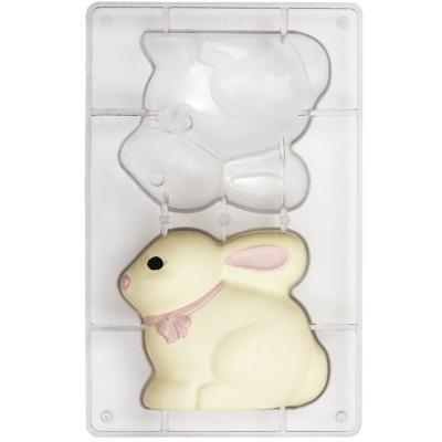 Molde policarbonato para chocolate Conejo