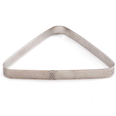 Triángulo microperforado repostería acero alto