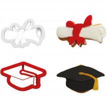 Set 2 talladors galetes plàstic Graduació