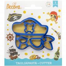 Tallador galetes plàstic Màscara Pirata