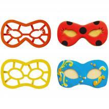 Set 2 cortadores galletas Máscaras Carnaval