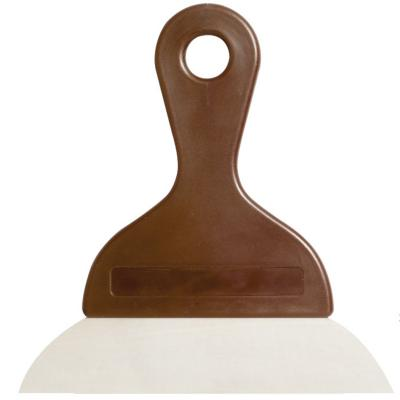 Espátula rasqueta para chocolate