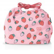 Bolsa para fiambrera Monbento fresas