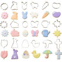 Set 18 talladors galetes Pasqua