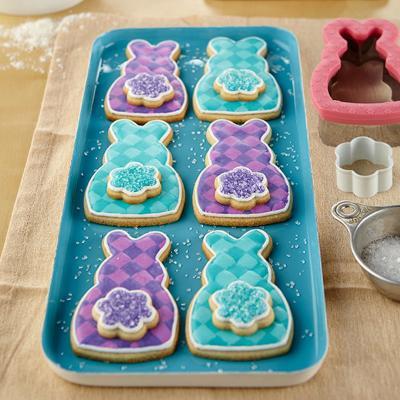 Set cortador galletas comfort grip Conejo y cola
