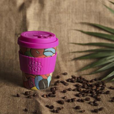 Taza bambú tapa Ecoffee Waterfall 340 ml Couleur