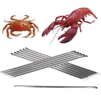 12 tenedores langosta y crustáceos