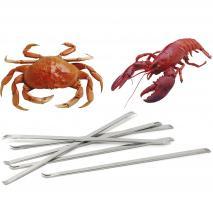 6 forquilles llagosta, llamàntol i crustacis