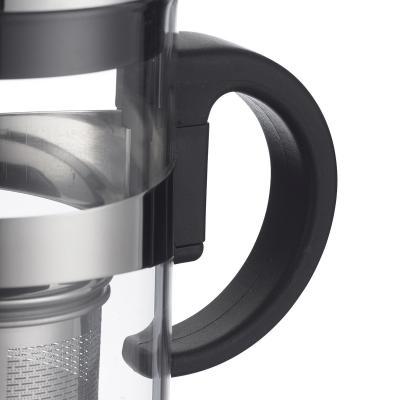 Tetera cristal con filtro inox abatible