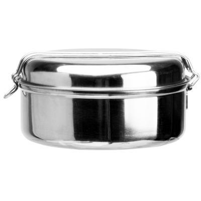 Set fiambrera porta comidas 3 piezas acero