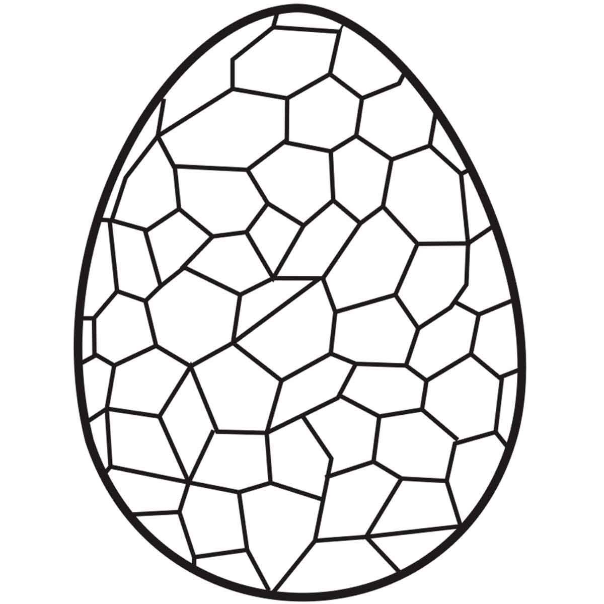 Molde Mona Pascua Huevo grabado x6